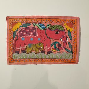 Elephant Family Mathila Art