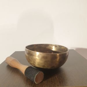 Small Hand Hammered Singing Bowl