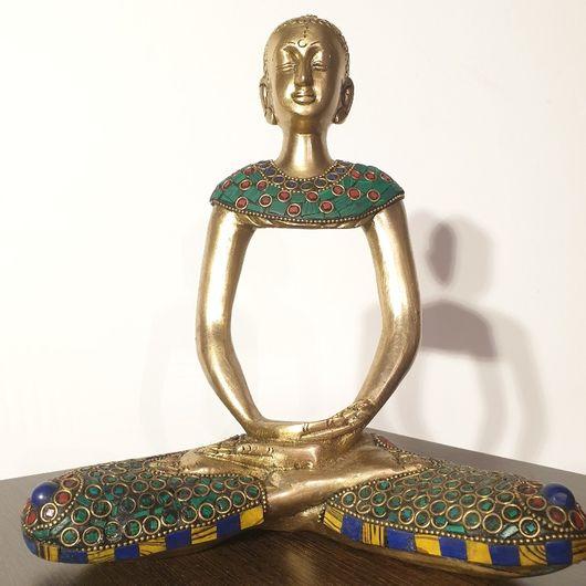 Turquoise Ghost Buddha