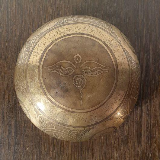 Hand Hammered Hamd Engraved Singing Bowl