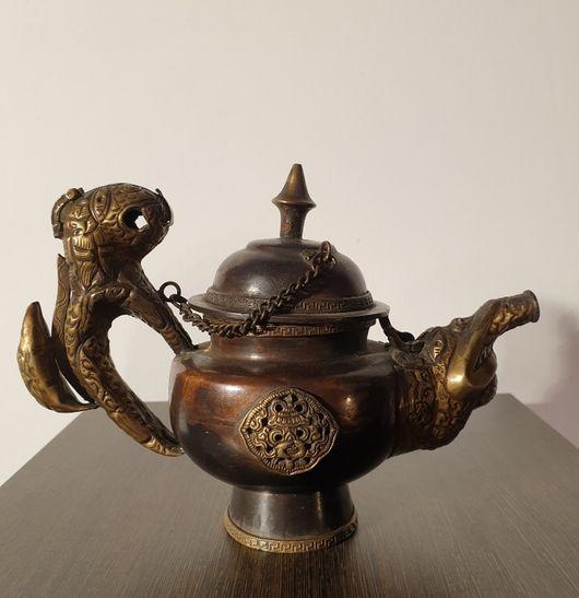 Copper Tibetan Tea Pot