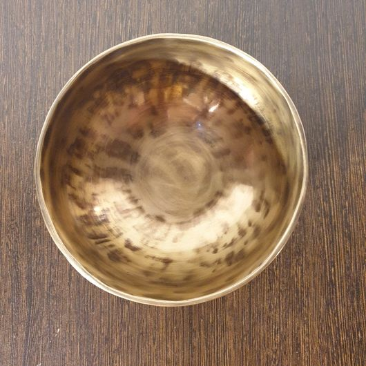 Small Hand Hammered Singing Bowl