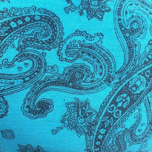 Paisley Printed Cashmere Shawl